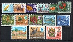 Southern Rhodesia QEII 1964 mint MH set SG92-105 WS18716