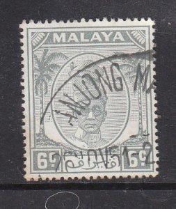 Malaya Perak 1950 Sc 109 6c Used