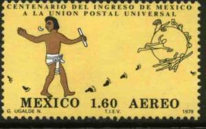 MEXICO C611, Centenary of Mexicos admission to the UPU MNH