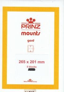 PRINZ 265X201 (5) CLEAR MOUNTS RETAIL PRICE $16.50