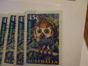 Australia #1623 used  die cut