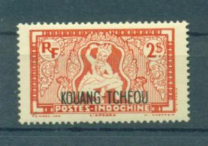 French Offices in China Kwangchowan sc# 131 mlh cat value $2.25