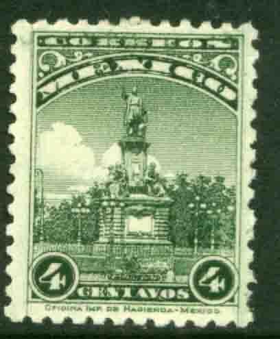 MEXICO 689, 4¢, COLUMBUS MONUMENT. Mint, NH. F-VF.