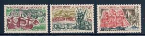 St. Pierre & Miquelon 393-395 Mint VF HR