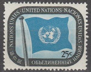 United Nations  #9  MNH (S821)
