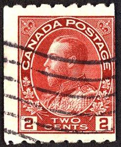 Canada #124 Used