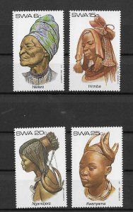 SWA MNH 499-502 Hair-dress Art 1983