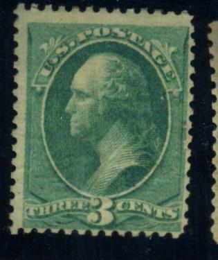 207 MINT Douglas Patient Cancel 8 small holes in a circle F-VF OG EstVal$250+