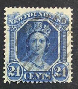 MOMEN: NEWFOUNDLAND #30 USED £38 LOT #7025