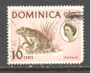 Dominica Sc # 171 used (DT)