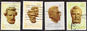 Australia # 885 - 888  U