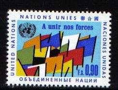 United Nations Geneva  #10 1969 MNH  90c.