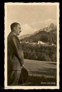 3rd Reich Germany Hitler Obersalzburg Berchtesgaden Hoffmann 760 RPPC USE 100301