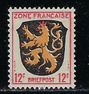 Germany - under French occupation - Scott # 4N6, mint nh