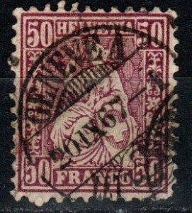 Switzerland #59 F-VF Used CV $77.50 (X9755)