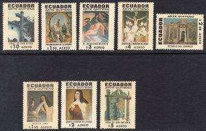 ECUADOR SCOTT C473-C480