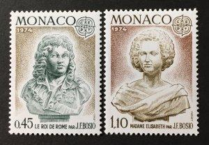 Monaco 1974 #903-4, MNH.