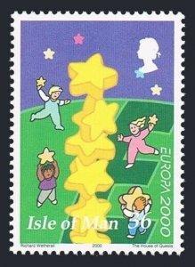 Isle of Man 883,MNH. EUROPA CEPT-2000.Stars.