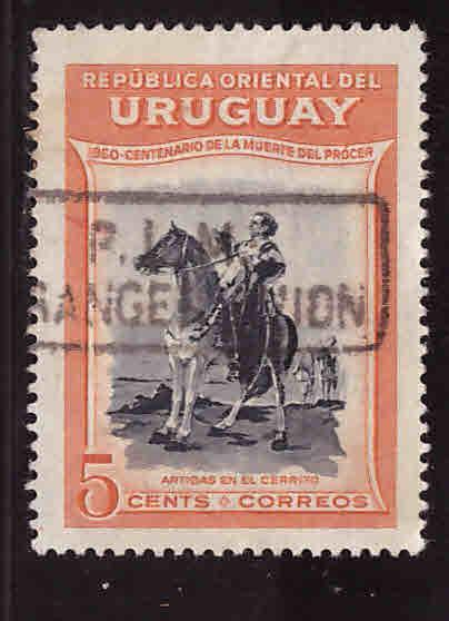Uruguay Scott 590Used stamp
