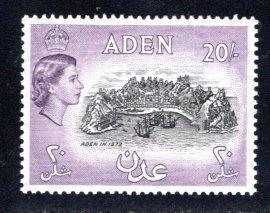 Aden #61A Unused, CV $65.00   .....  0020102