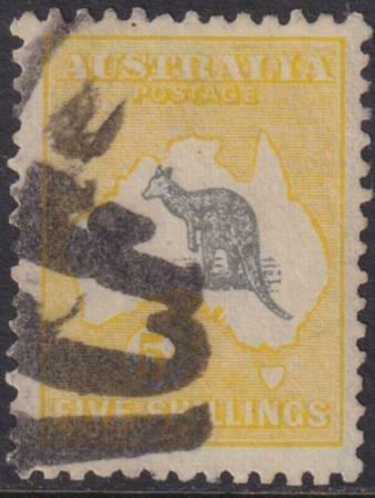 Australia 1913 SC 12 Used