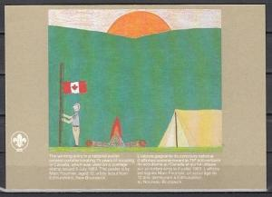 Canada, Scott cat. 993. Agency issue Scout Anniversary Post Card. ^