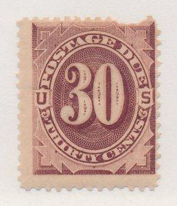 United States Stamp Scott #J20, Mint Hinged, Perf Torn/Thin - Free U.S. Shipp...