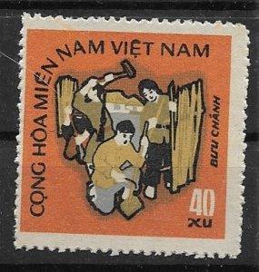 1971 Vietnam NFL Workers  Mitchel# 41  Used