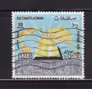 Oman 192 U Book, Map (A)