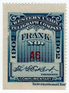 (I.B) USA Telegraphs : Western Union (1902)
