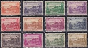 Norfolk Island 1-12 MNH (1947)