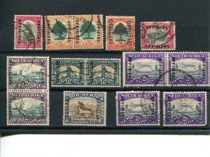 South Africa lot of Officials  Used  VF   - Lakeshore Philatelics