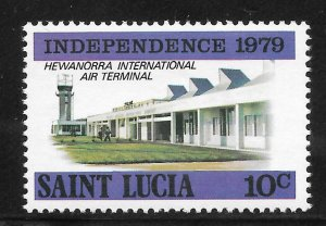 St Lucia Mint Never Hinged [4176]