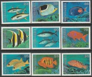 Micronesia 213-226 complete set MNH