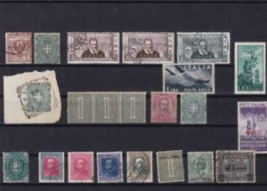 italy and eritrea  stamps   ref r13878