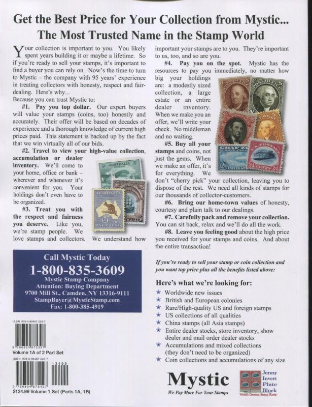 2019 Scott Postage Stamp Catalogue United States UN