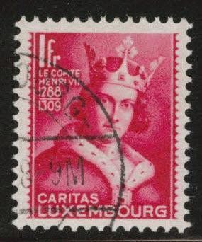 Luxembourg Scott B57 Used 1933 Semi-Postal CV$35