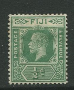 Fiji - Scott 94 - KGV Definitive Issue -1922 -Die II - MH - Single 1/2d Stamp