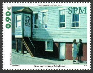 St. Pierre and Miquelon #812 MNH CV$3.00 Ben Vouz Savez Madame [90817]