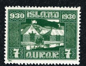 Iceland Sc#154 Mint OG VLH VF SCV $4...powerful bargain!!