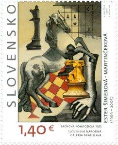 Stamps of Slovakia 2016-ART: Esther Simerova - Martincekova (1909 - 2005)