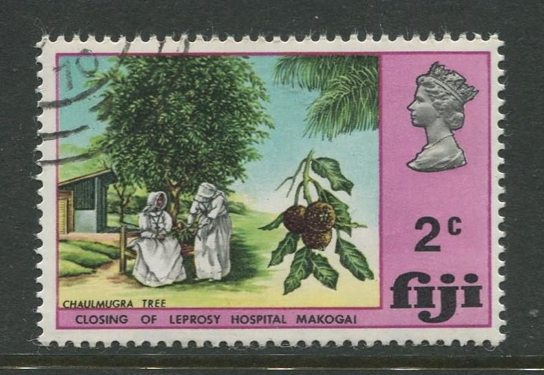 Fiji - Scott 289 - General Issue 1970 - FU - Single 2c Stamp