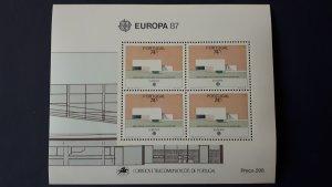 Europa CEPT - Portugal 1987. ** MNH Block