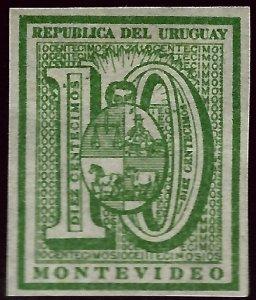 Uruguay Scott #31 Mint VF hr....Fill a key spot!