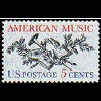 U.S.A. 1964 - Scott# 1252 American Music Set of 1 NH