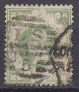 Great Britain #122 F-VF Used CV $60.00 (B10310)