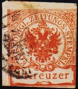 Austria. 1890 1k  S.G.J76 Fine Used