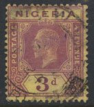 Nigeria  SG 5  Used Die I  1914 issue please see scans