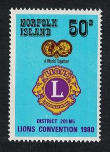 Norfolk Lions Club Convention 1v SG#234 SC#254