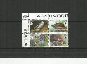 LAOS 2004 TURTLES SCOTT 1625 MNH